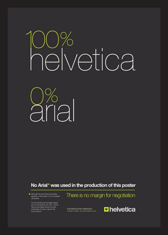 25 Helvetica Poster Design for Inspiration - Jayce-o-Yesta