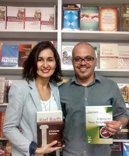 Eneas Alixandrino e sua esposa Karen Alixandrino