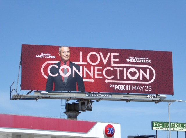 Love Connection series premiere billboard