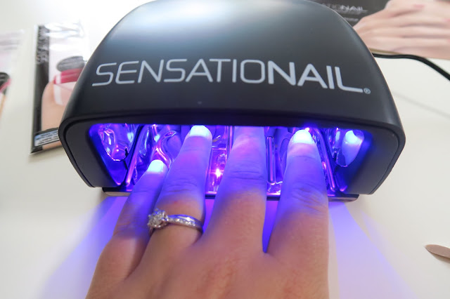 Review Sensationail Gel Starter Kit in Scarlet Red