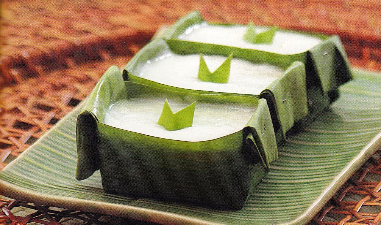 Takir daun pisang (kreasi-masak.blogspot.com)