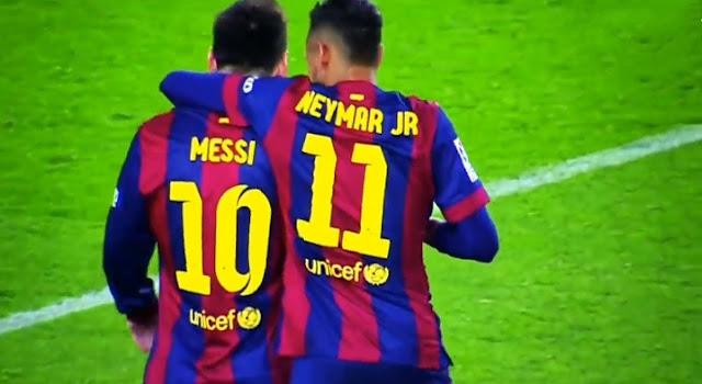 Messi leaves Barcelona.
