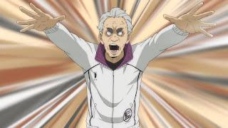 ハイキュー!! アニメ 3期8話   白鳥沢 監督 鷲匠鍛治   Karasuno vs Shiratorizawa   HAIKYU!! Season3