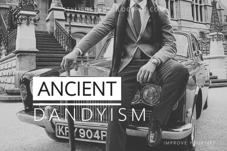 Ancient dandy man pic