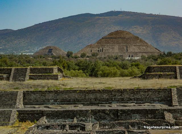 Pirâmides de Teotihuacán, México