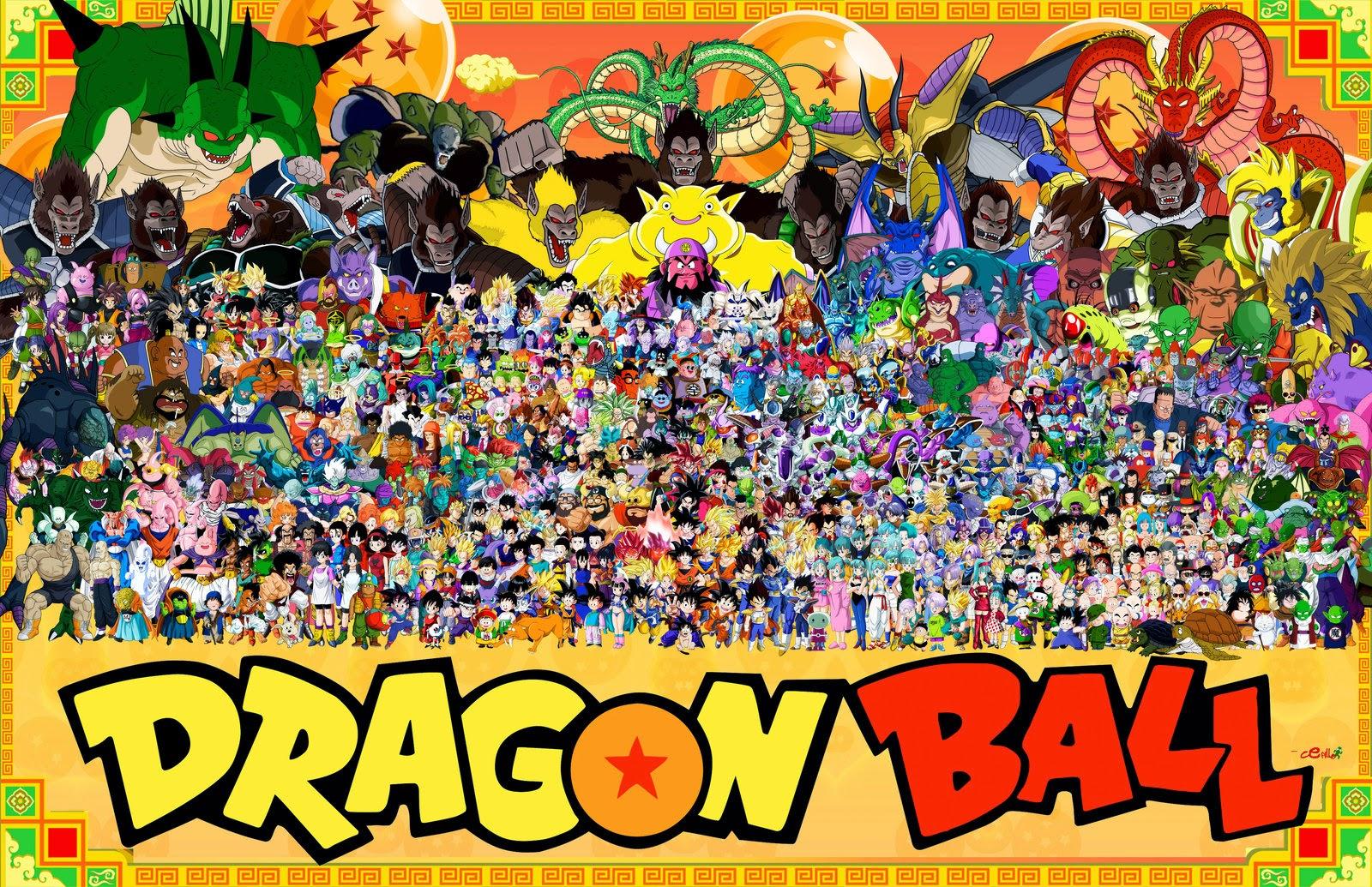 Dragon Ball Z Wallpaper All Characters 157