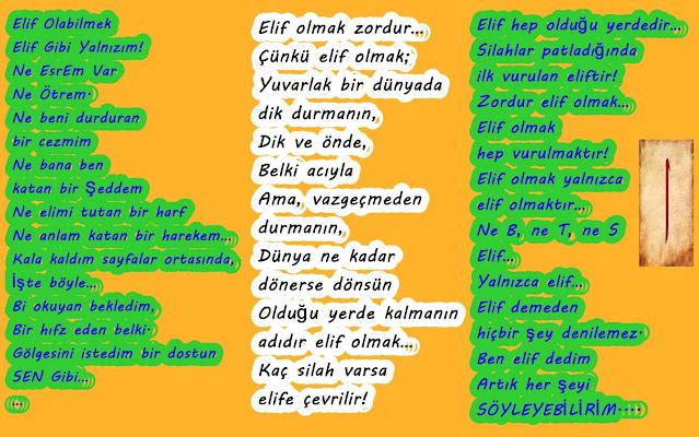 Elif Gibi Yalnızım!