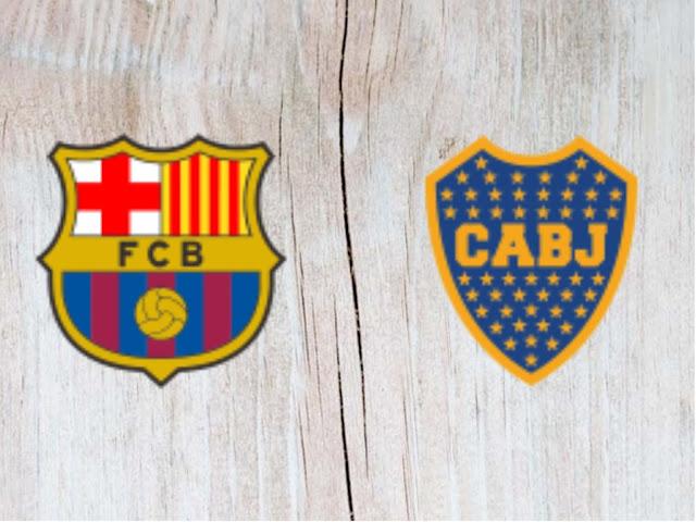 Barcelona vs Boca Juniors Full Match & Highlights - 15 August 2018