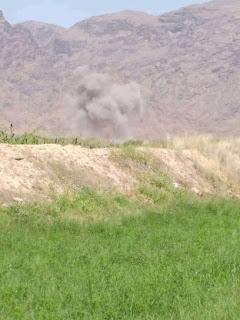 هجوم صاروخي