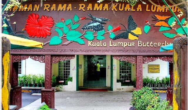 5. Taman Rama-Rama (Taman Kupu-Kupu Kuala Lumpur)