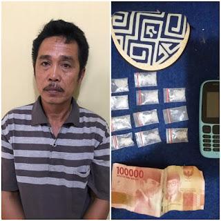 Jadi Pengedar Narkoba di Wilayah Sungai Keruh, Nardi Dibekuk Polisi
