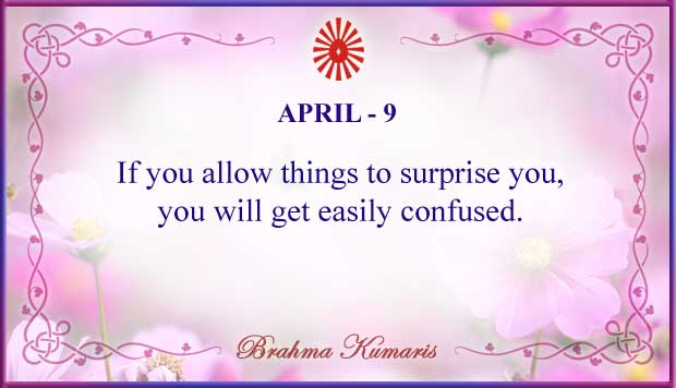 Thought For The Day April 9