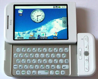 HTC Dream first Android Phone 2008