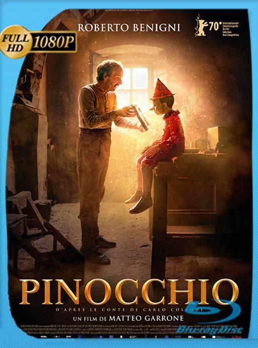 Pinocho (2019) [BRRip 1080p] Latino [Google Drive]