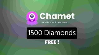 Get free unlimited diamonds in Chamet app
