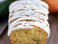 Carrot Apple Zucchini Bread Recipe