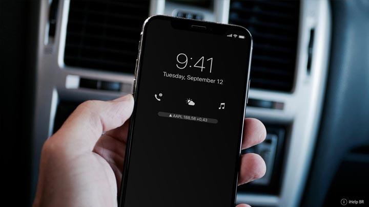 Lockscreen di iOS 12 Techvibe