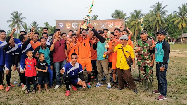 Tournament Sepak Bola Se-Desa Pangkalan Nyirih 2019 Resmi Berakhir
