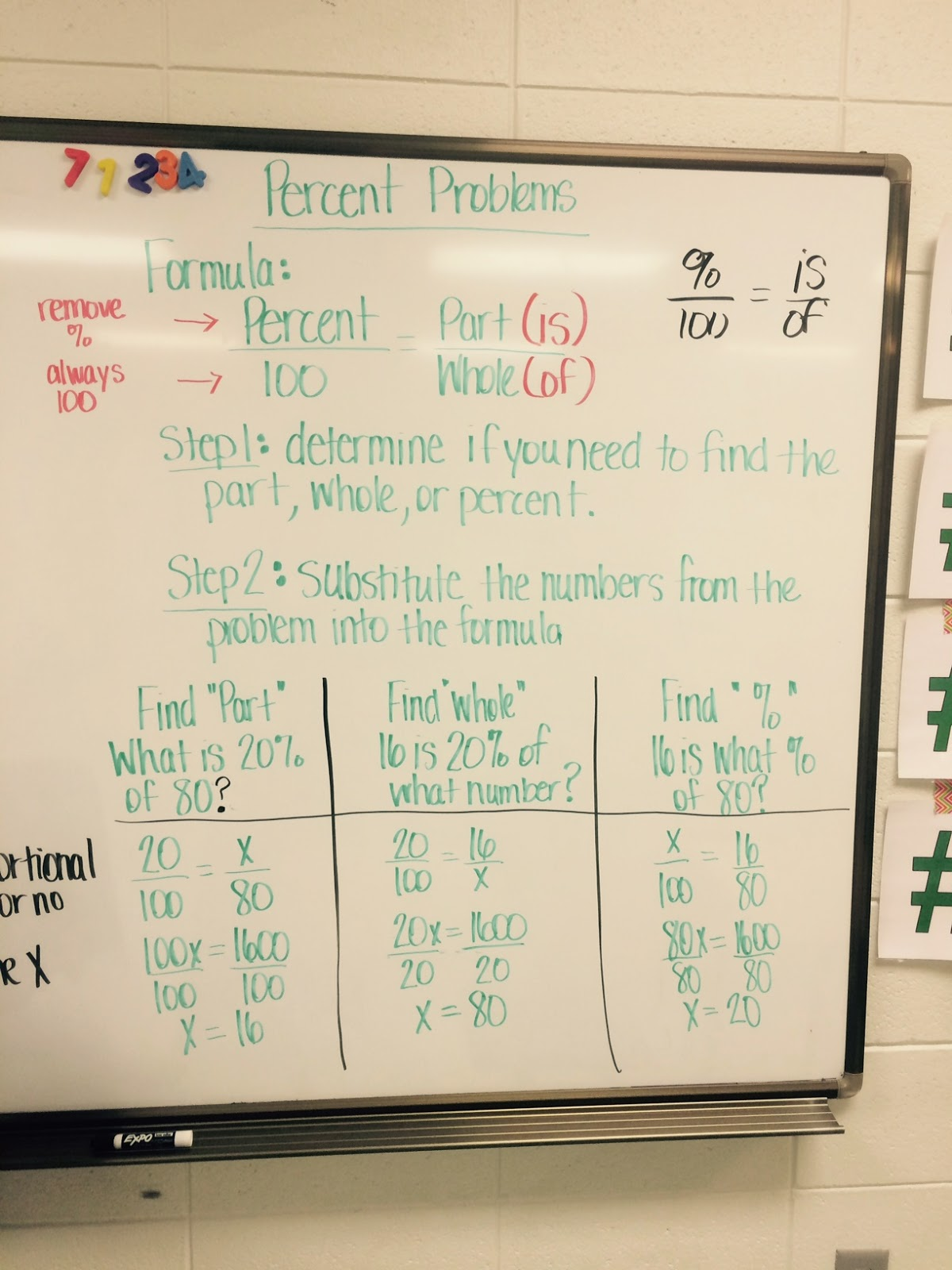 Mrs White S 6th Grade Math Blog Percents