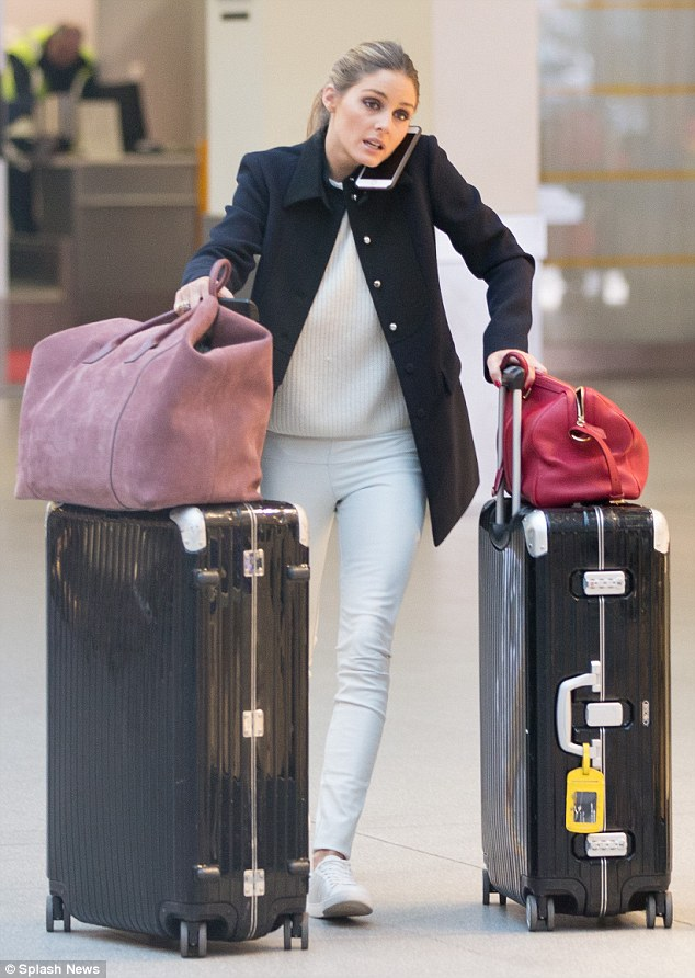 The Olivia Palermo Lookbook Olivia Palermo Airport Style