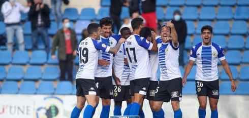 El Hércules suma tres puntos tras derrotar 1-0 al Badalona