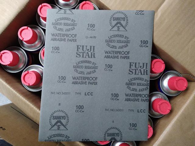 Giấy ráp Fuji Star 100cc-Cw