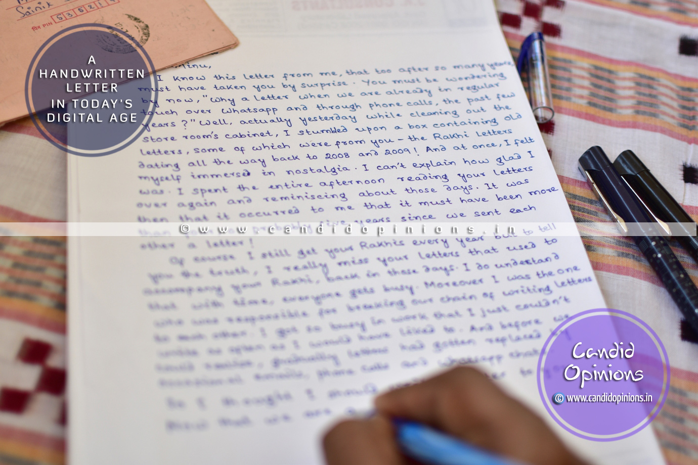 A Handwritten Letter In Today's Digital Age
