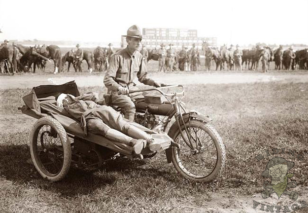 Were The Harley Davidson Motorcycles Were Used During World War I