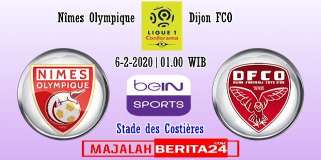 Prediksi Nimes vs Dijon — 6 Februari 2020
