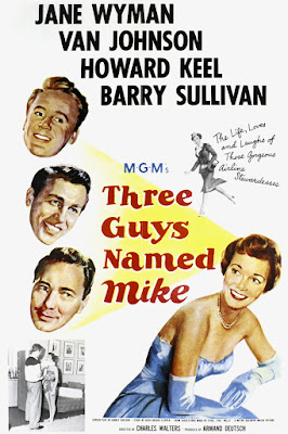 Póster película Tres hombres llamados Mike