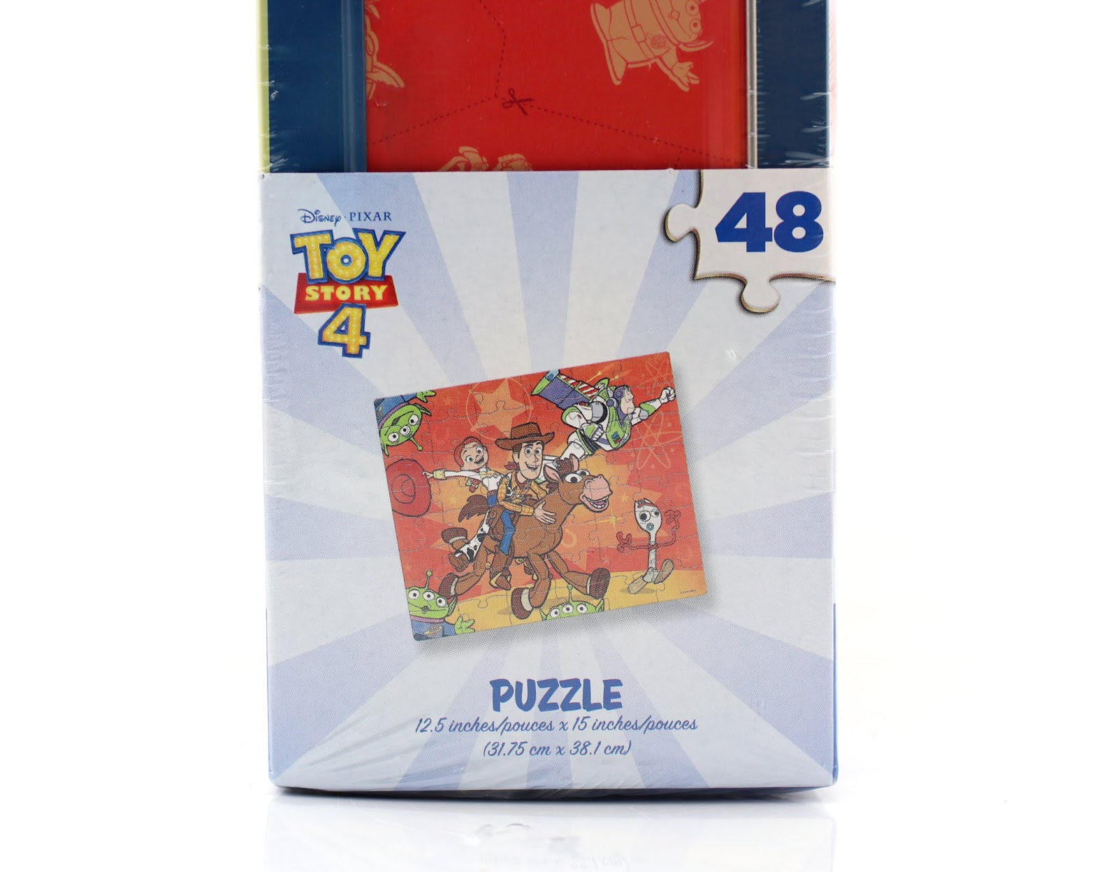 toy story 4 48 piece puzzle tin box