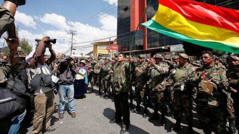 militares sargentos bolivianos