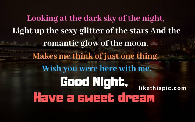 GoodNight SMS for girlfriend