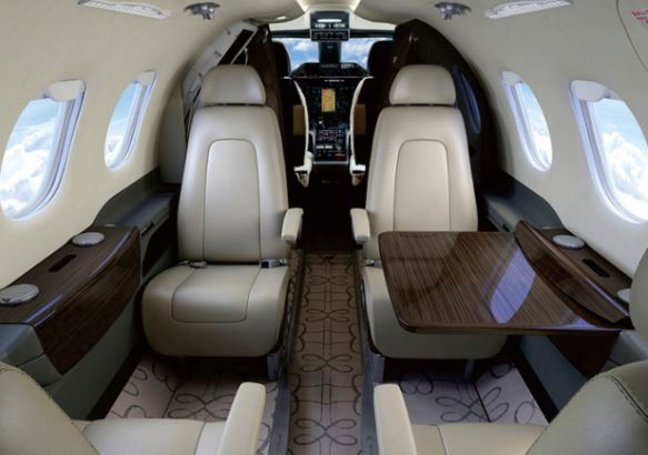 Embraer Phenom 100EV interior
