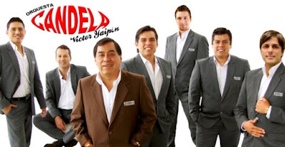 Foto de la Orquesta Candela posando