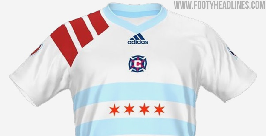 Chicago Fire Concept Kit With Alternative Club Logo - Club To Get ...