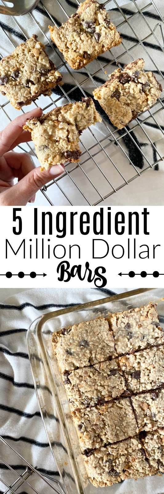 5 Ingredient Million Dollar Bars #dessert #sweetsavoryeats