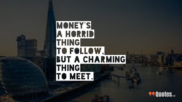 quote about money