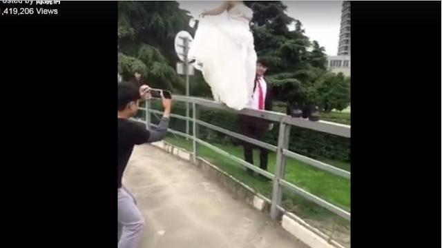 Videonya Viral dan Bikin Ngilu! Pre Wedding Wanita Ini Berakhir Menyedihkan