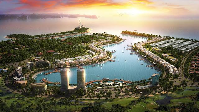 Phối cảnh dự án Tuần Châu Marina