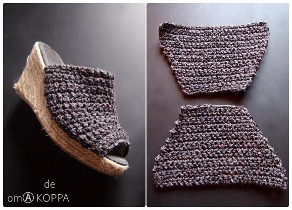 Alpargatas, zapatillas de verano, tutoriales, patrones crochet