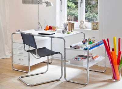 Mesa de tubo de acero. Marcel Breuer