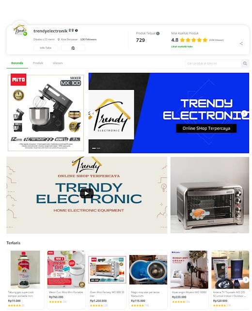 Trendyelectronik, Toko Elektronik Bali Terpercaya