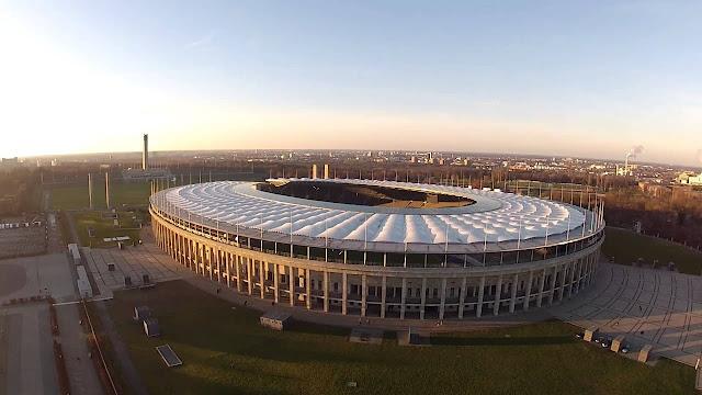 The Olympiastadion Berlin 31 12 2013 Still 8 hours untill from Olympiastadion berlin draußen