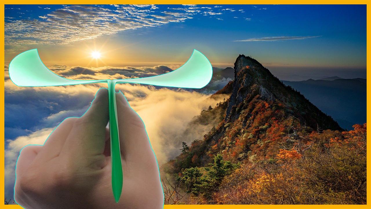 Comment faire un Avion en papier aile courbe simple qui vole longtemps et très bien