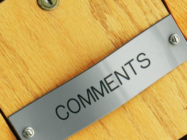 Como deixar um comentário no blog