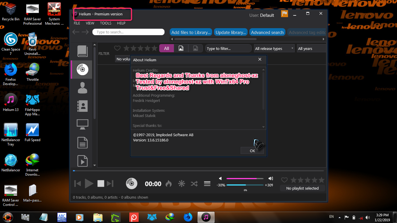 aloneghost-xz : Helium Music Manager 13 6 Build 15186 FULL