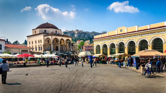 El Mercado de Monastiraki