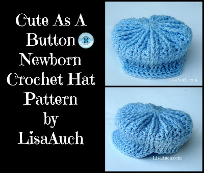 free crochet baby hat pattern, free crochet patterns free crochet baby hat pattern newborn cute as a button crochet hat pattern newborn size perfect for a boy