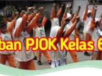 Kunci Jawaban PJOK Kelas 6 Kurikulum 2013 Materi Variasi dan Kombinasi Gerak Dasar dalam Aktivitas Berirama, Halaman 147